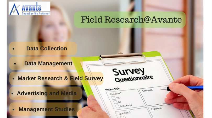 field research and online survey