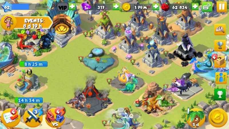 Dragon Mania apk for android, pc and ios