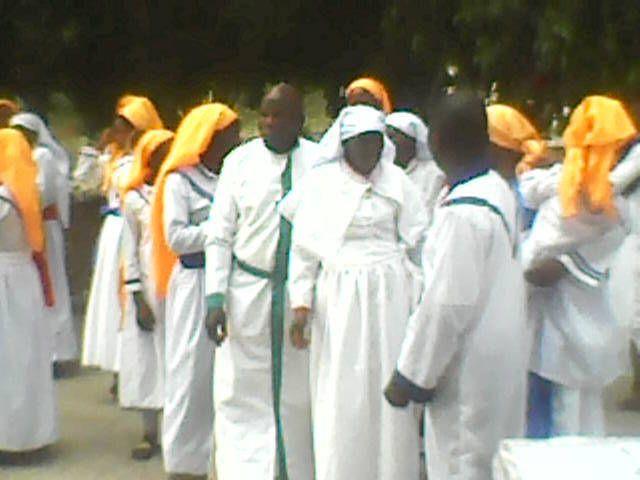 Pélérinage de la Nouvelle Eglise Zéphirin, du Christianisme Prophétique en Afrique.