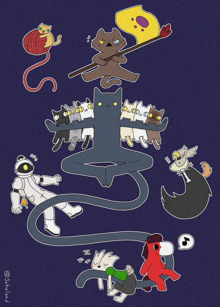 The Legend of Lucky Pie : Cat army and co