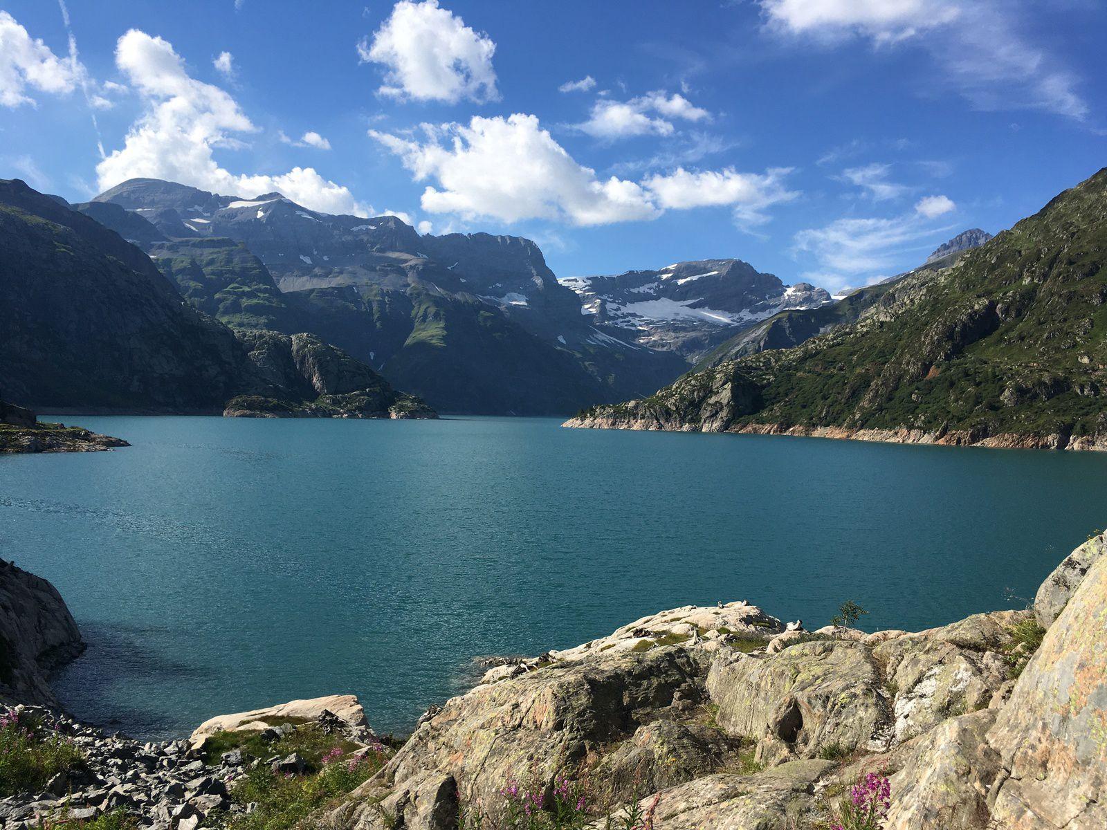 7-8-9 août 2020 : Week-end au lac d'Emosson (Suisse)