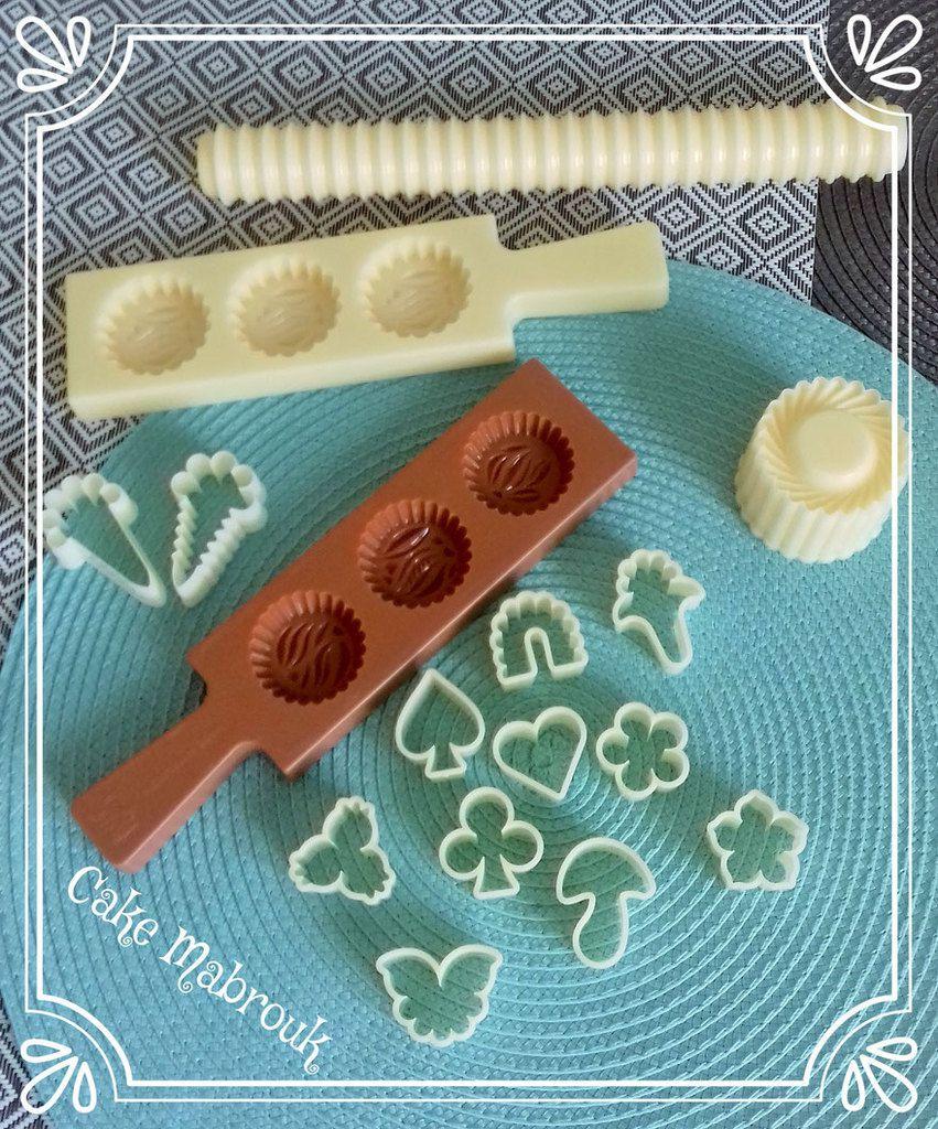 Nouveautés boutique cakemabrouk ! Moule gâteaux orientaux, rouleau à pâtisserie, emporte pièces chance, coeurs