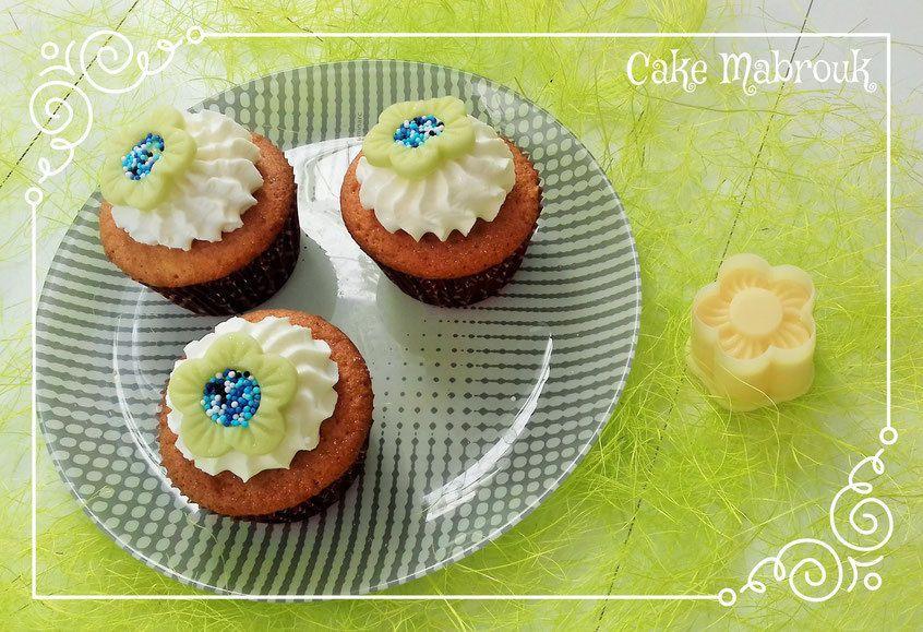 Kit tartelettes fleur à rayures Référence: 120