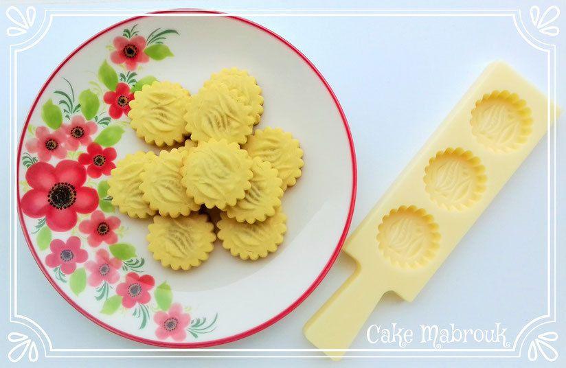 Petits gâteaux maamoul aux pâtes de fruits