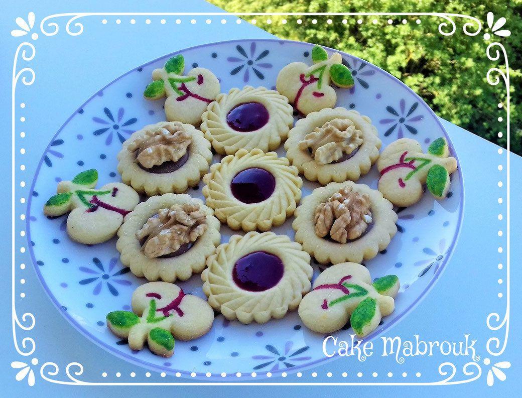 Biscuits cerises