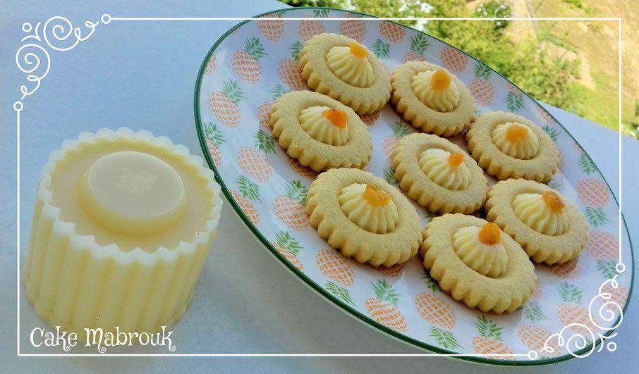 Tartelettes crème pâtissière et abricot moelleux