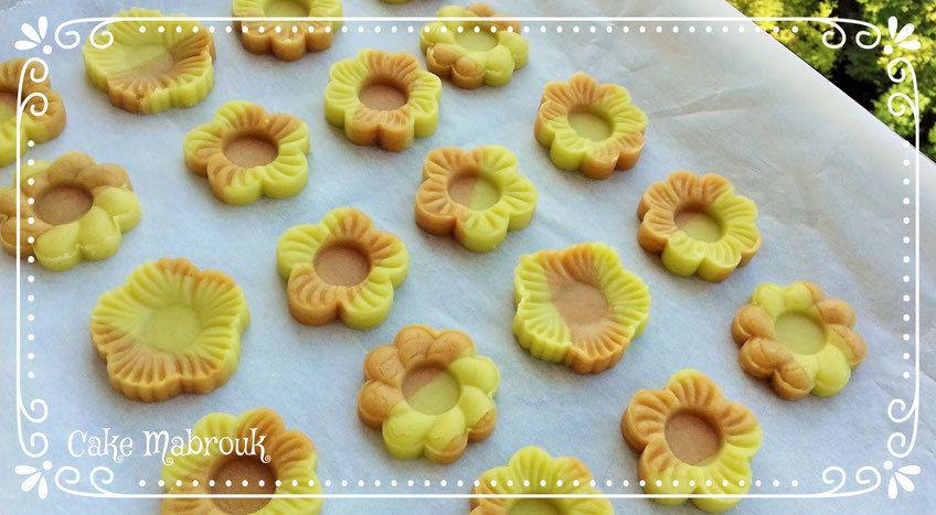 Champs de fleurs en tartelettes bi-goût au chocolat