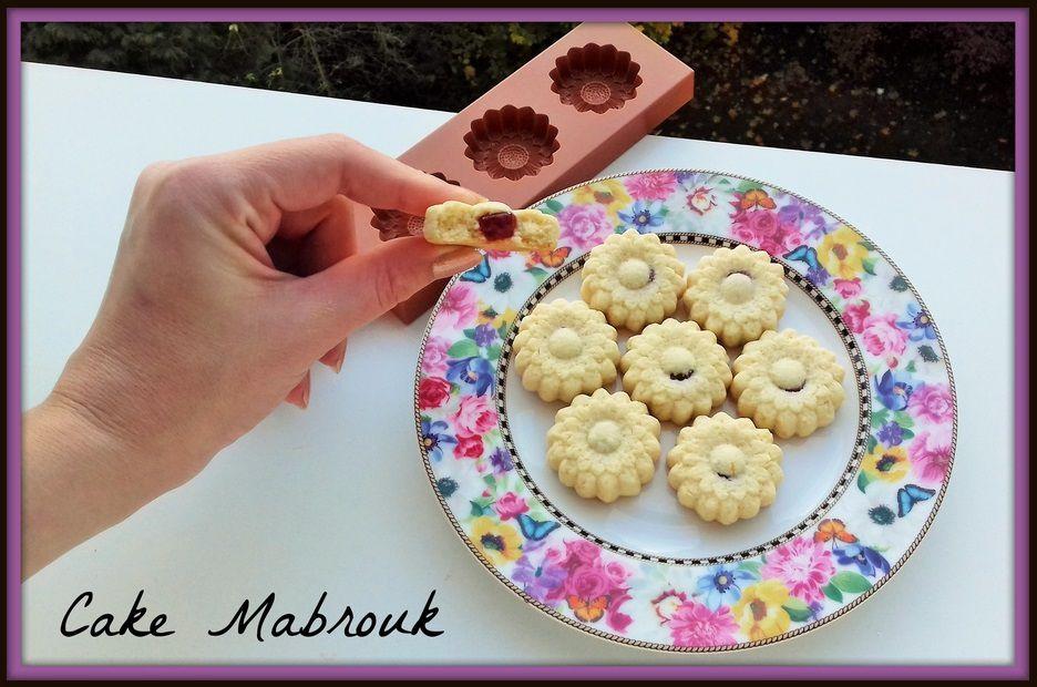 Gâteaux marguerites aux bonbons bio saveur framboise gélatine végétale