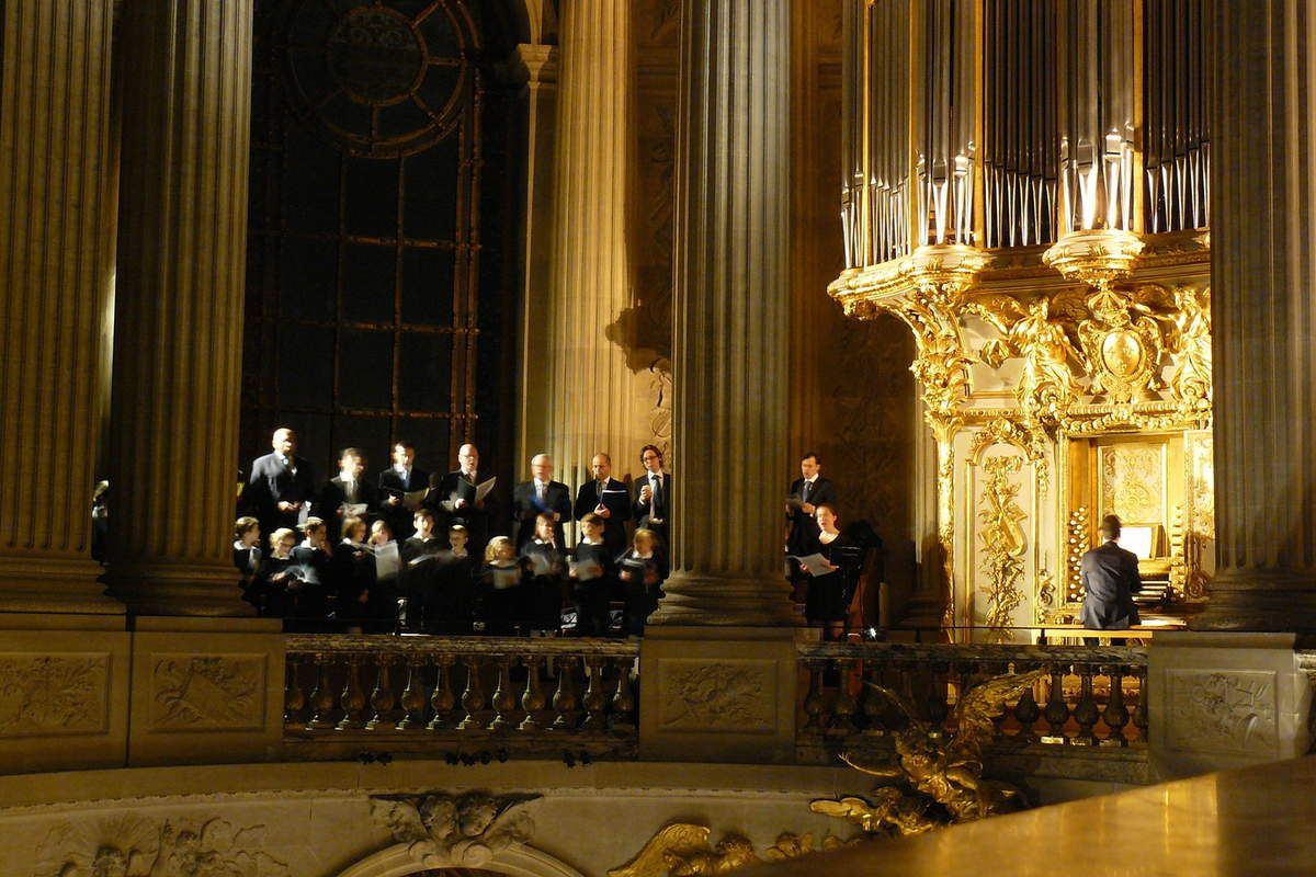 Messe à la Chapelle Royale