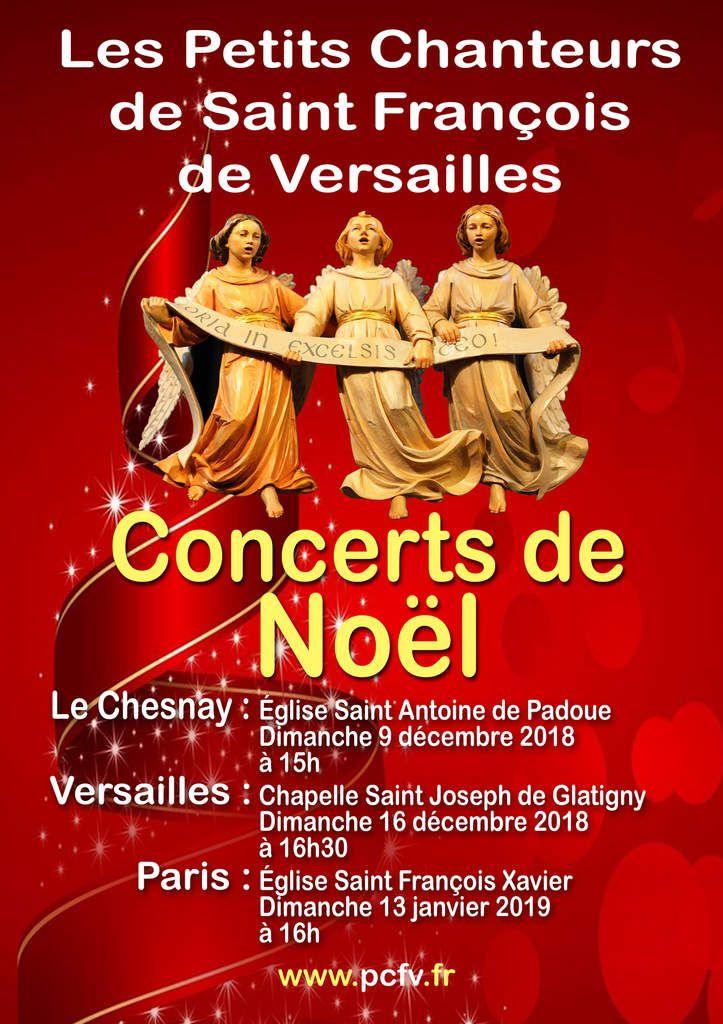 affiche concert de Noël 2018-2019