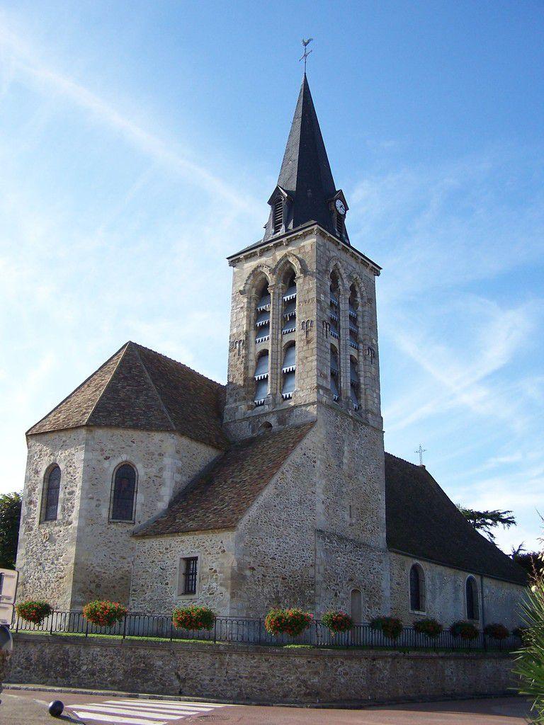 l'église Saint Denis de Méré