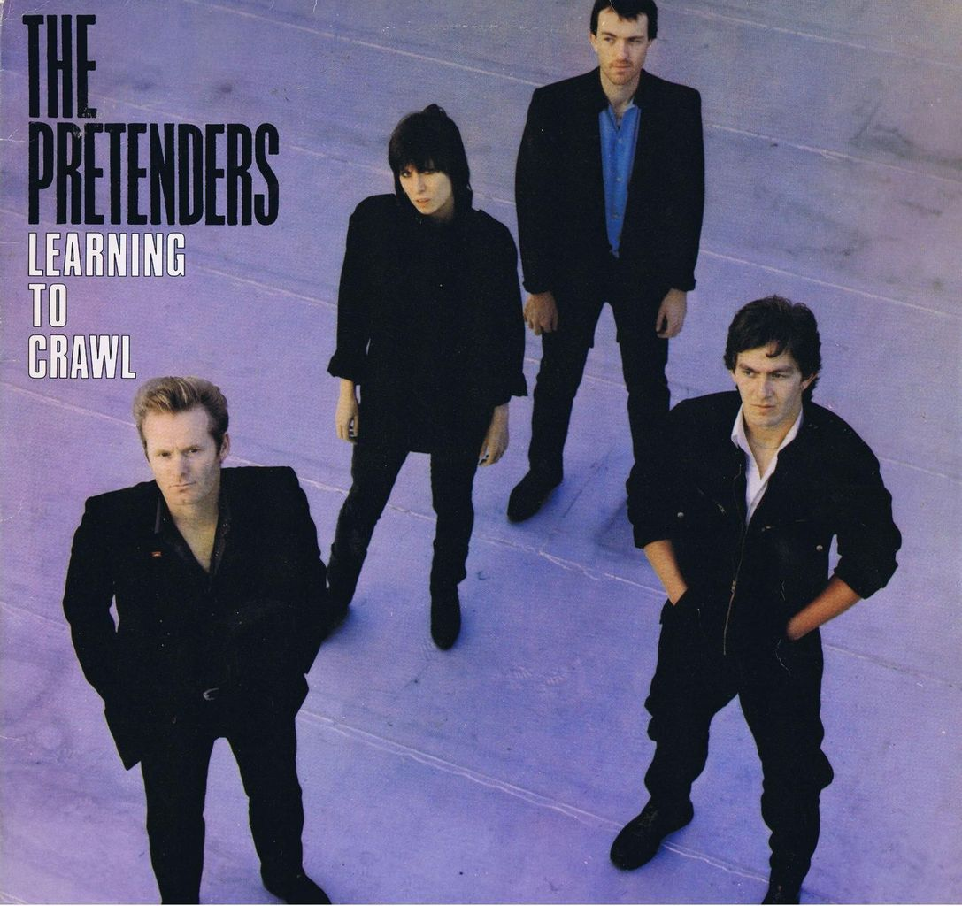 The Pretenders Thin Line Between Love And Hate  Album Learning To Crawl