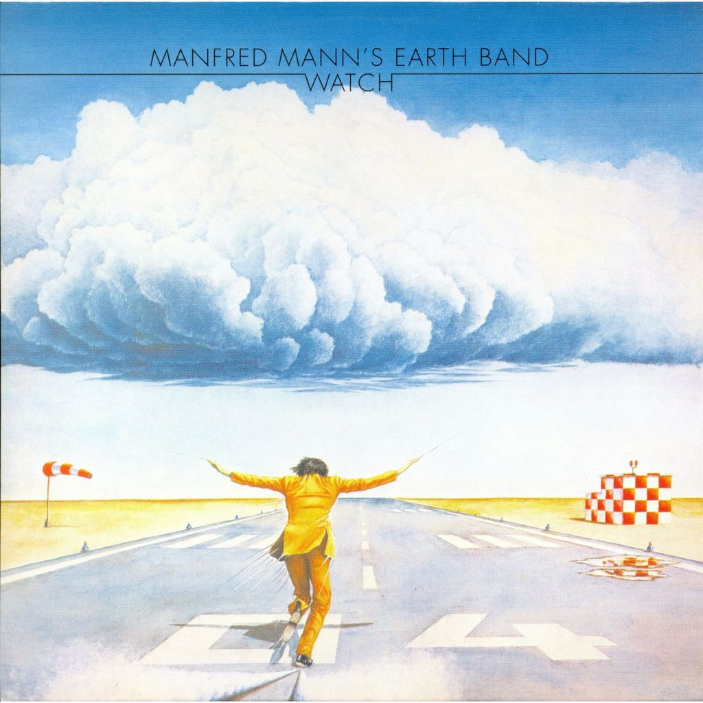 Manfred Mann's Earth Band Watch album sleeve. Davy's On The Road Again French Translation.