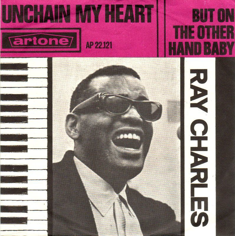 Ray Charles 45 tours unchain my heart