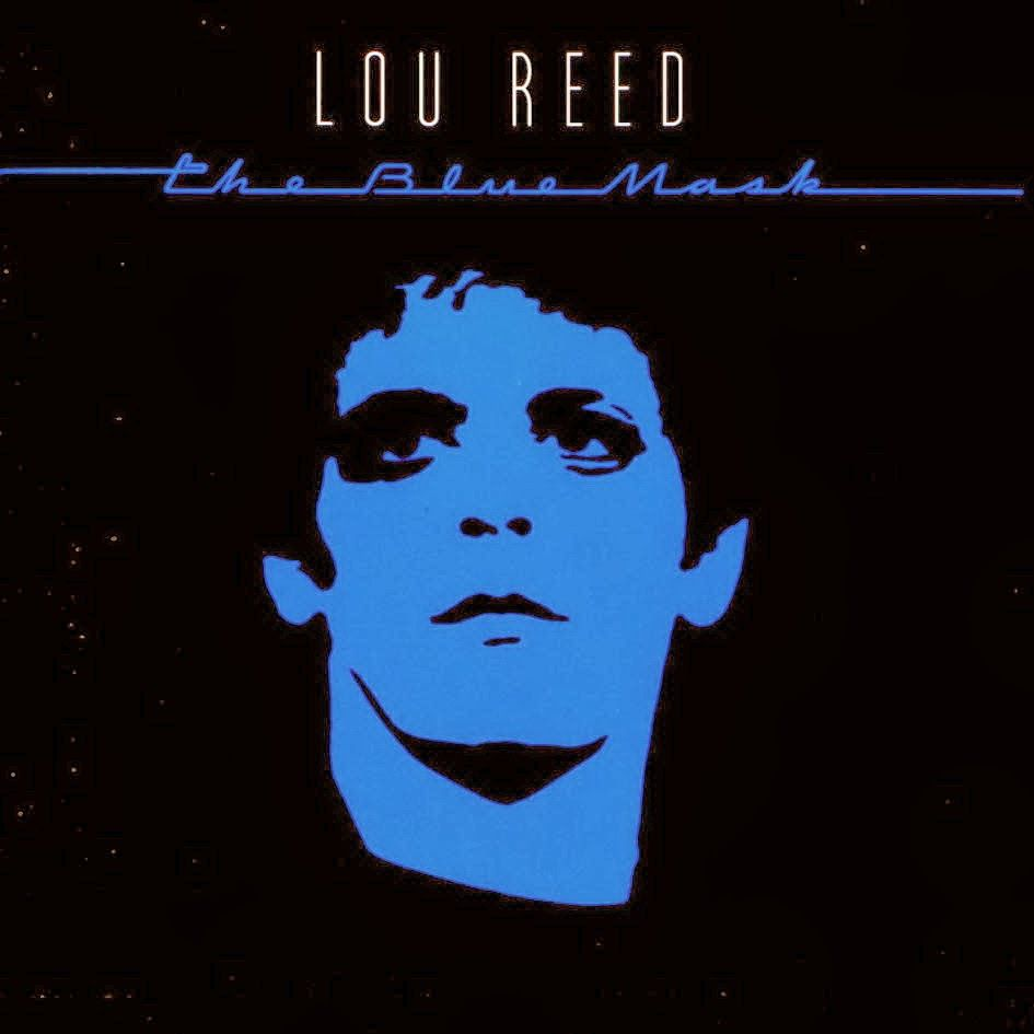 Lou Reed The Blue Mask cover