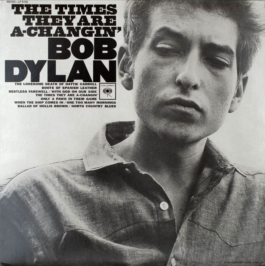 Bob Dylan - The Times They Are A-Changin album sleeve