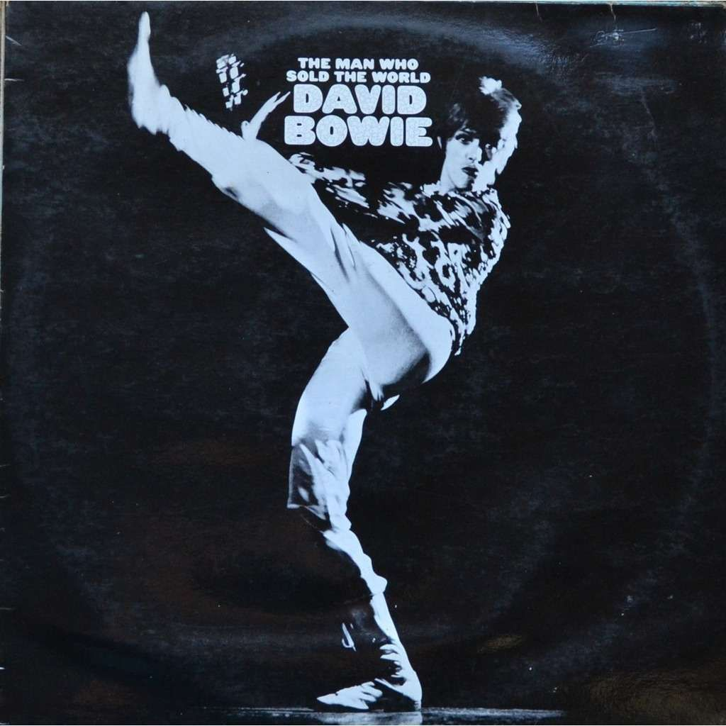 David Bowie The Man Who Sold The World album sleeve. After All translated in French.