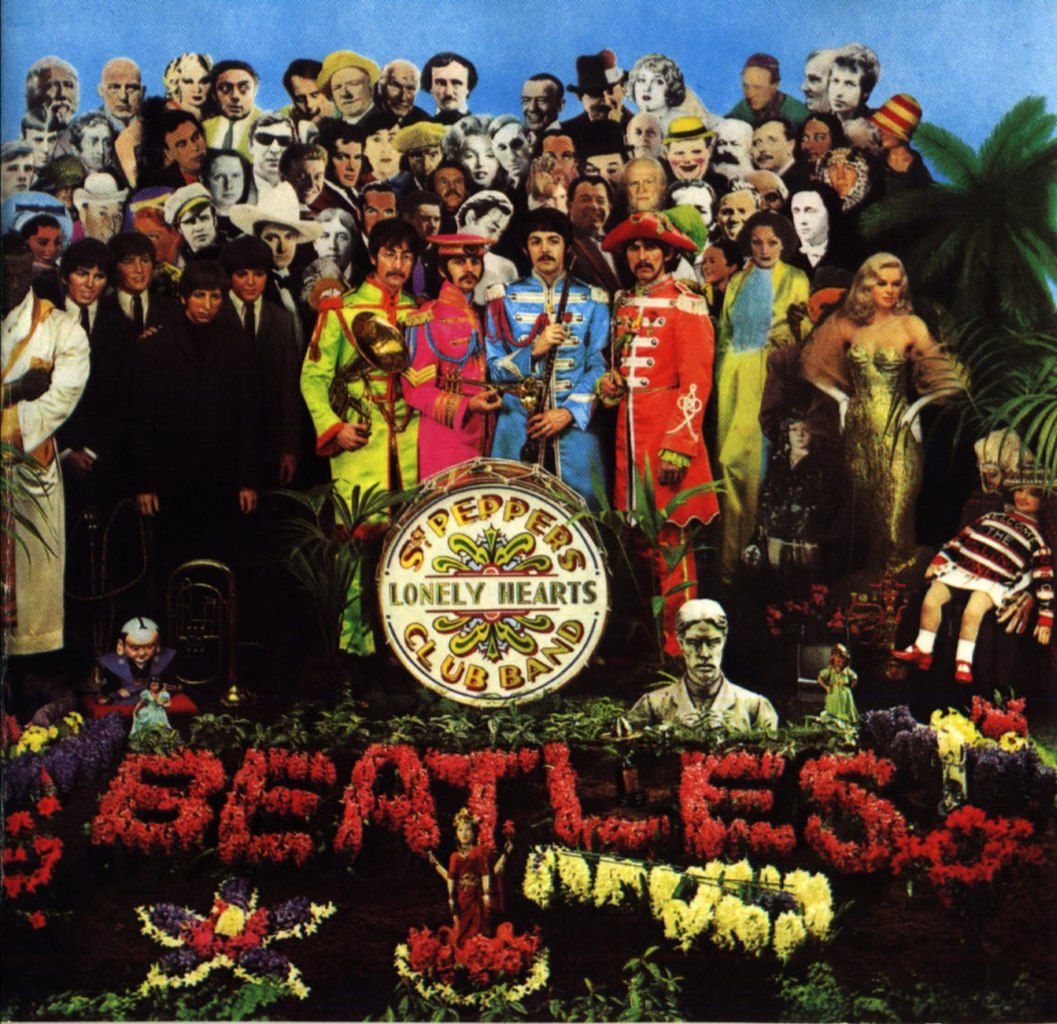 Beatles Sgt Pepper's Lonely Hearts Club Band 1967 album. Translation in French of When I'm Sixty Four.