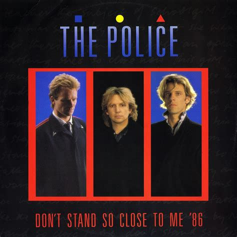 The Police - Don't Stand So Close To Me : traduction des paroles en français, versions vidéos. Lyrics translated in French.