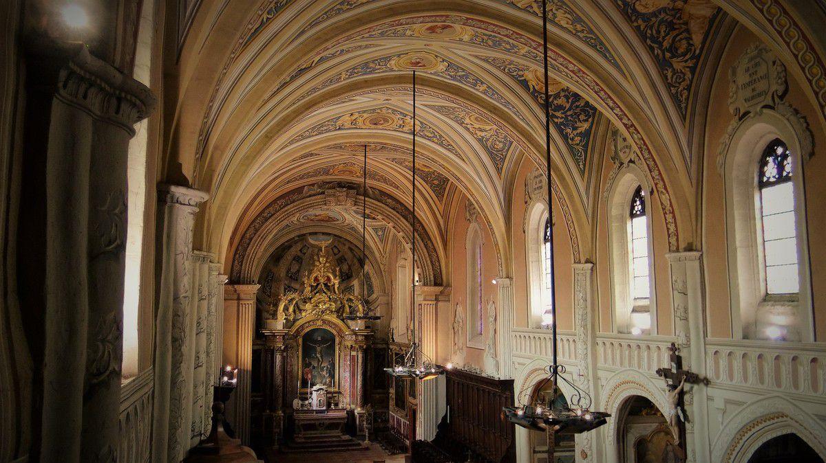 La collégiale Saint Rémy de Lautrec, splendeur d'une église de village