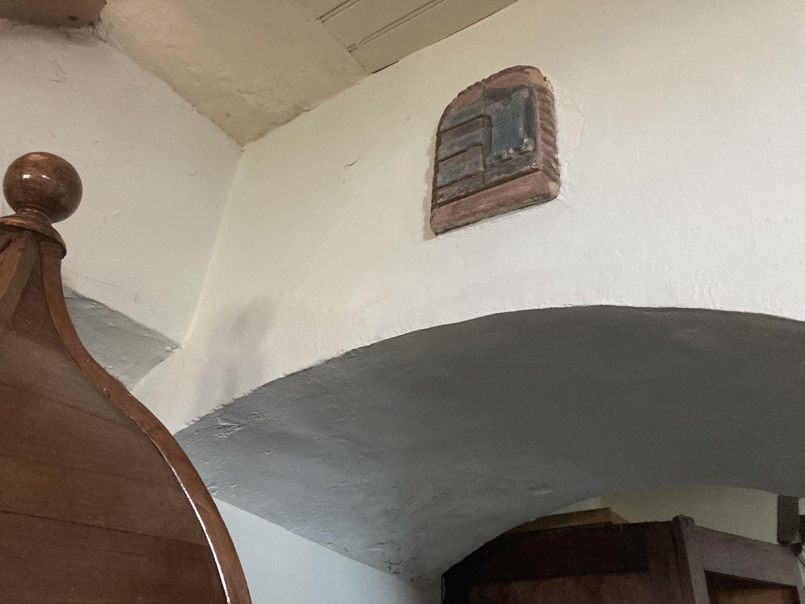 Vestiges du portanel du fort aujourd'hui disparu