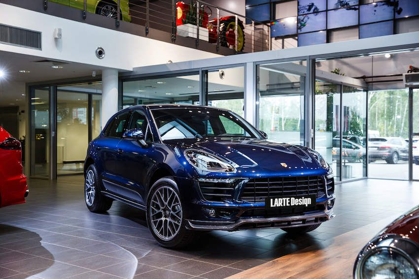 Porsche Macan With Larte Design Tuning Parts The Art In Details