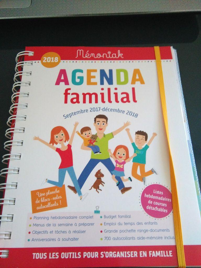Mon agenda Mémoniak des Editions 365