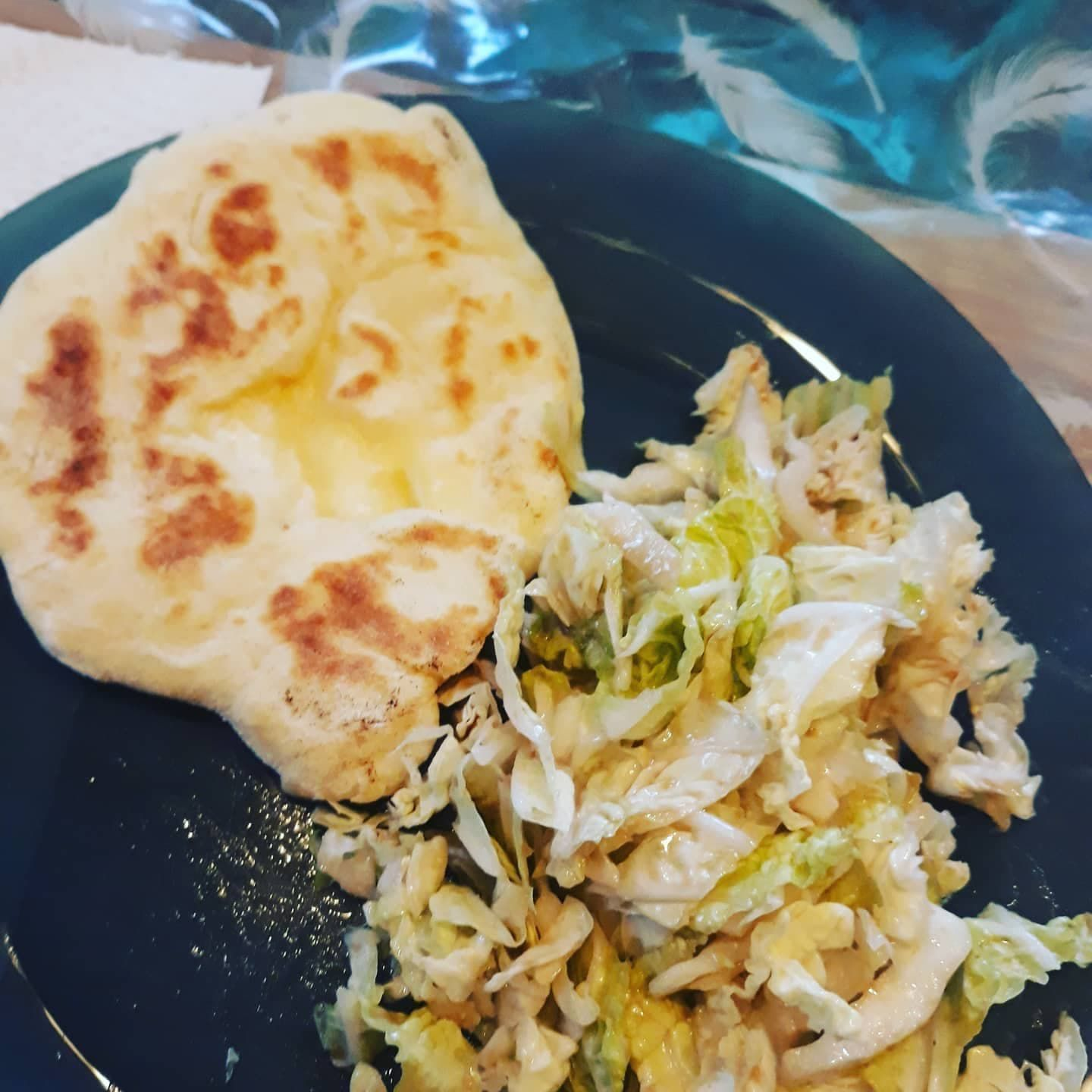 CHEESE NAAN !!
