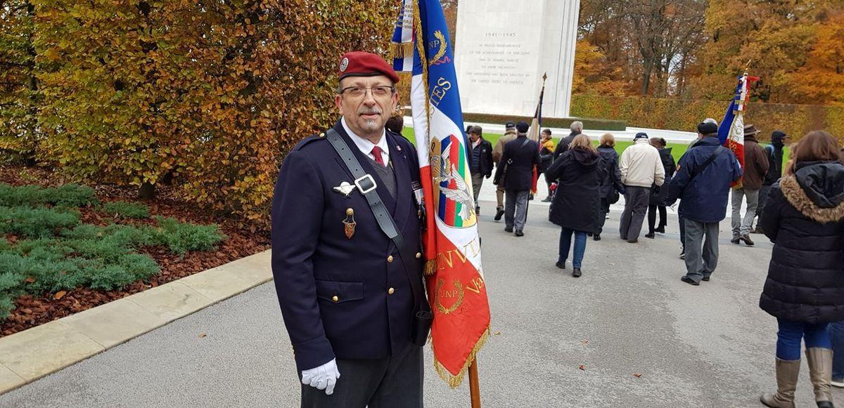 Cimetière U.S au Luxembourg  le 15 / 11 / 2019