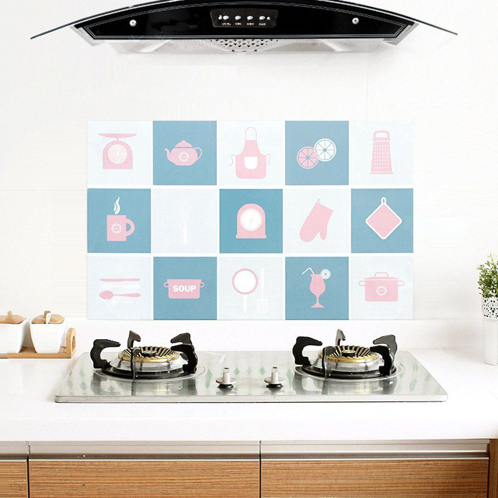 Tips Memasang Wallpaper Dinding Dapur Anti Minyak