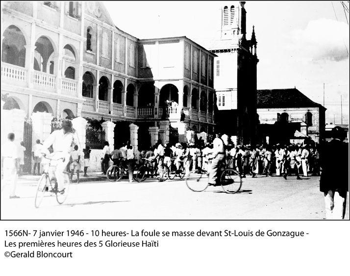 HAITI -1946 - LES CINQ GLORIEUSES