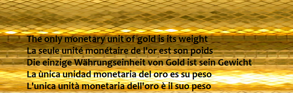 GOLDWEIGHT.org,  gold backed cryptocurrency