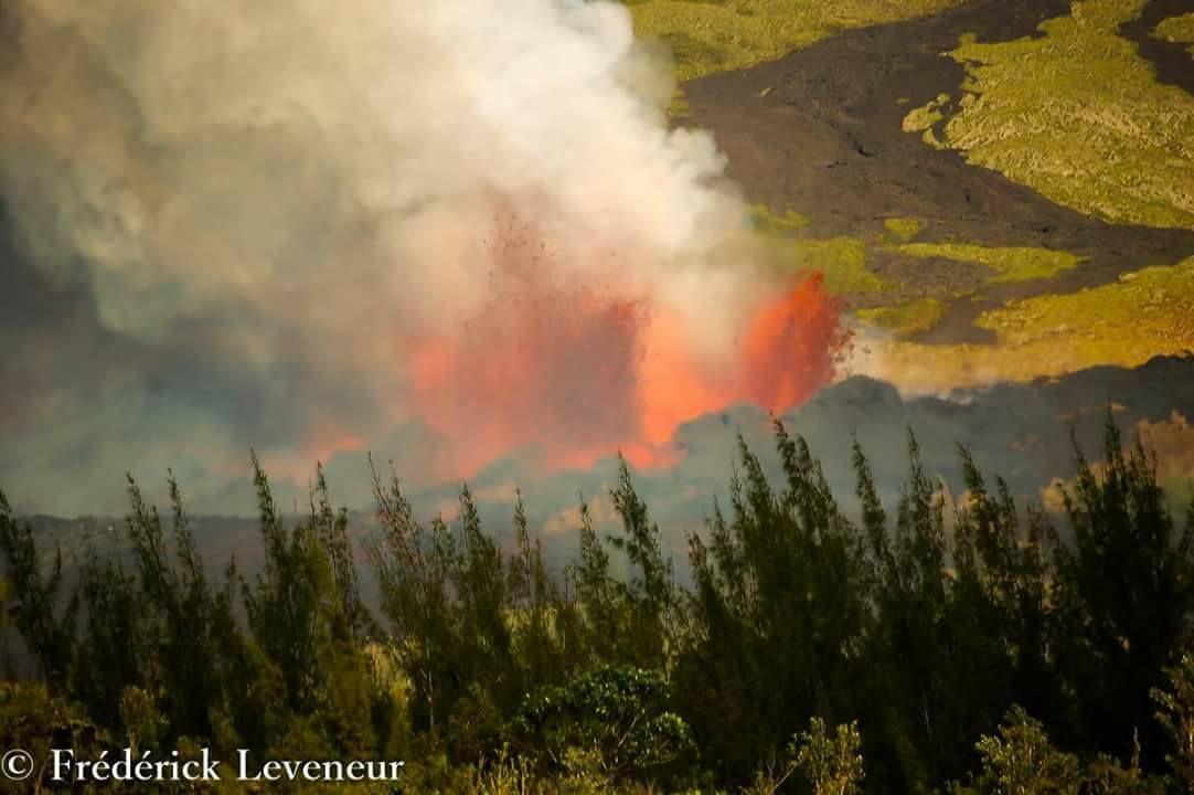 Il y a 11 ans, s'est produit l'une des plus grosses éruption du Piton de La Fournaise.
