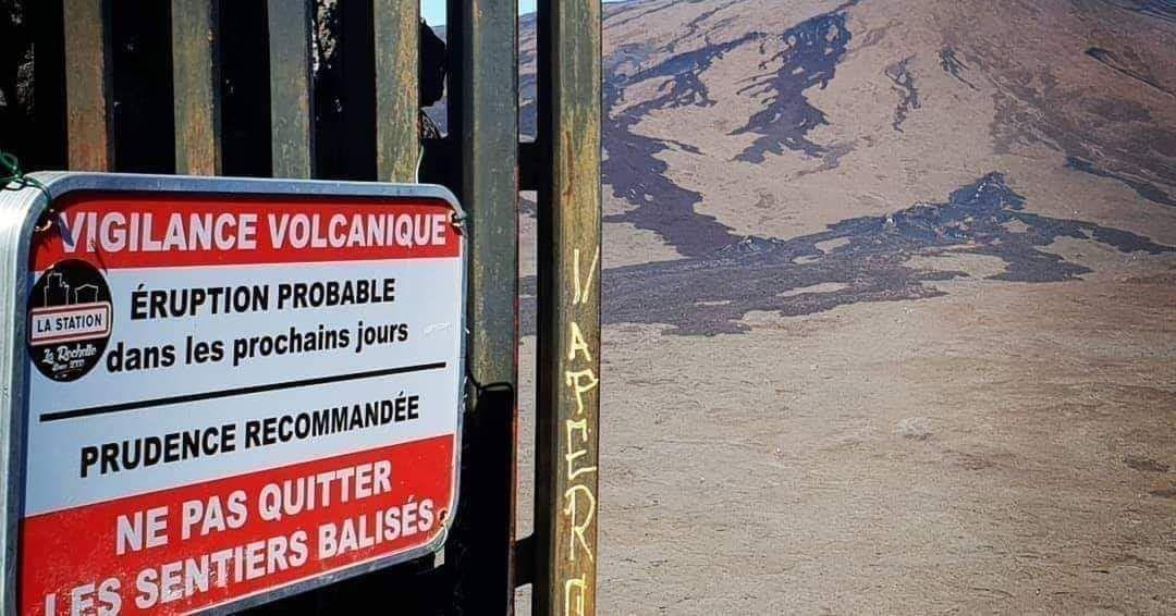 Réouverture de l'enclos du Piton de la Fournaise à compter de ce jeudi 9 juillet 2020 à 8h00 heures locale