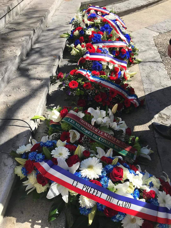 CEREMONIE D'HOMMAGE AUX VICTIMES DU TERRORISME NIMES 11 MARS 2020