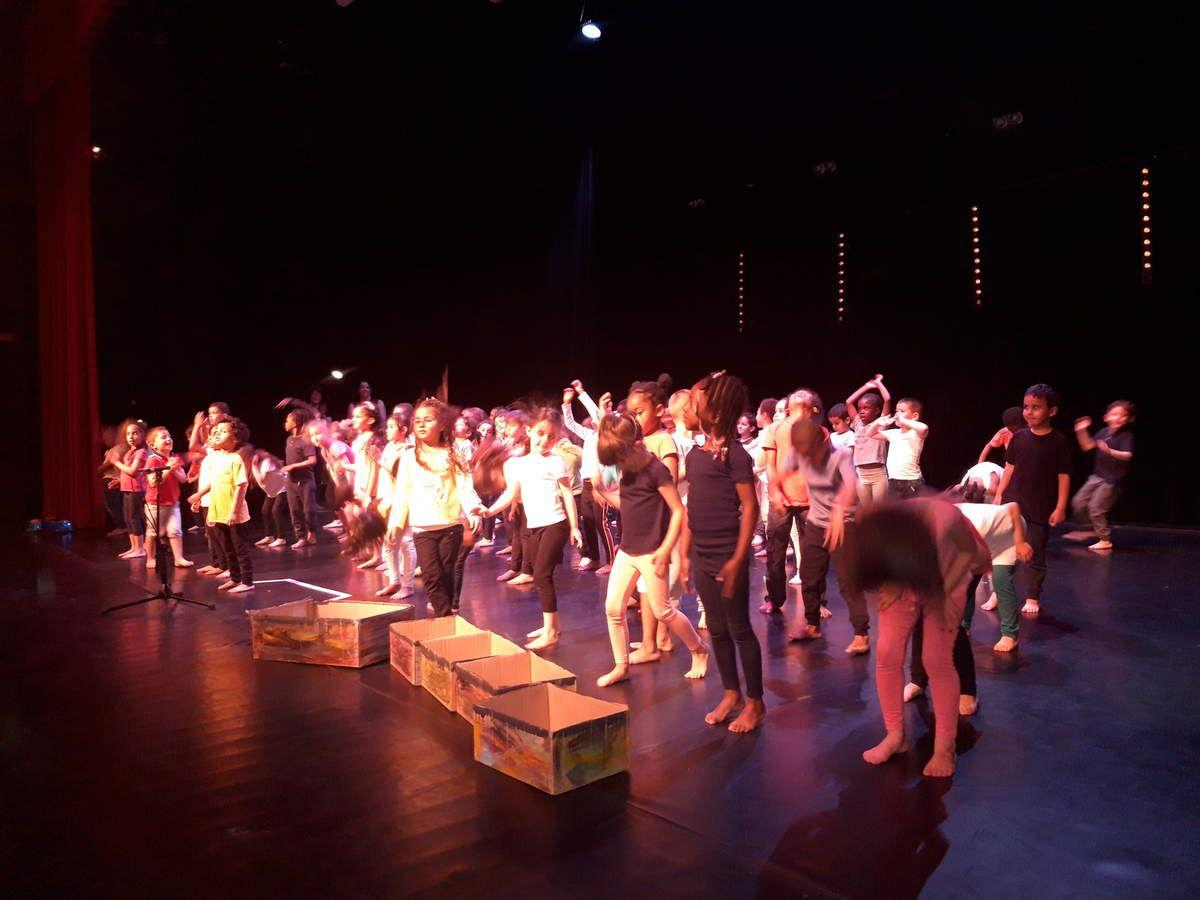 Spectacle de danse au théâtre Simenon