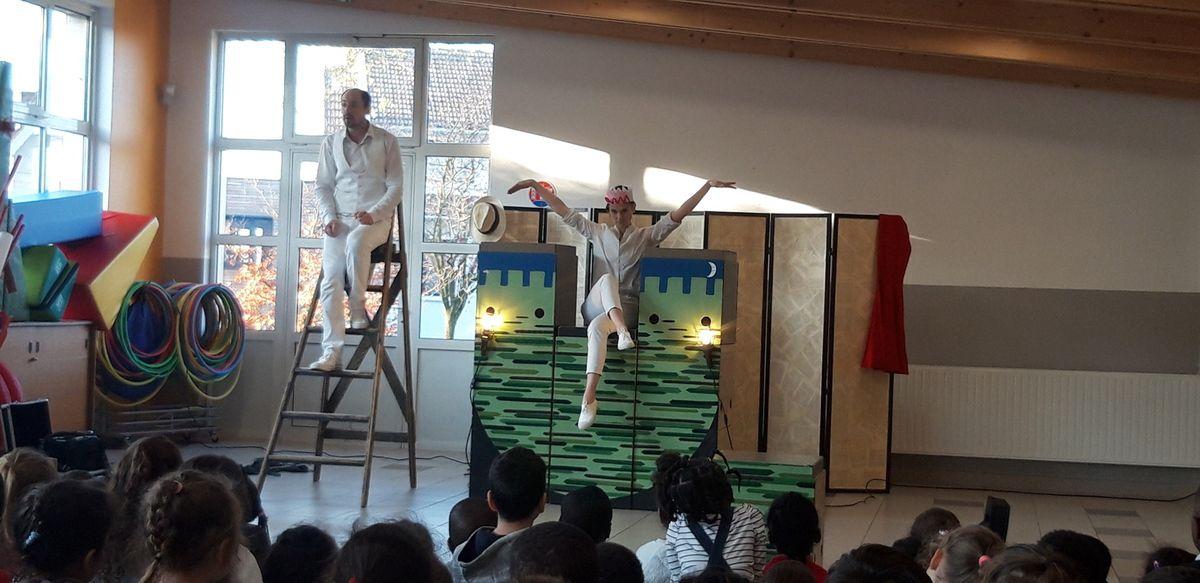 Lundi 2 décembre, spectacle à l'école : 7 histoires de...