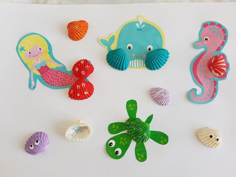 Apprendre à peindre des coquillages SES Creative