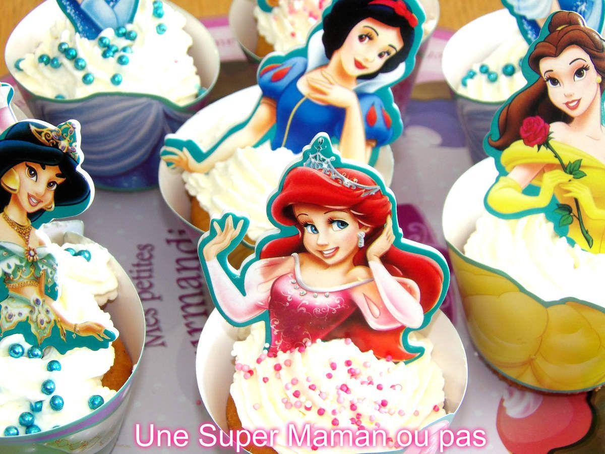 Recette, Cupcakes, Princesses, Disney, Enfant