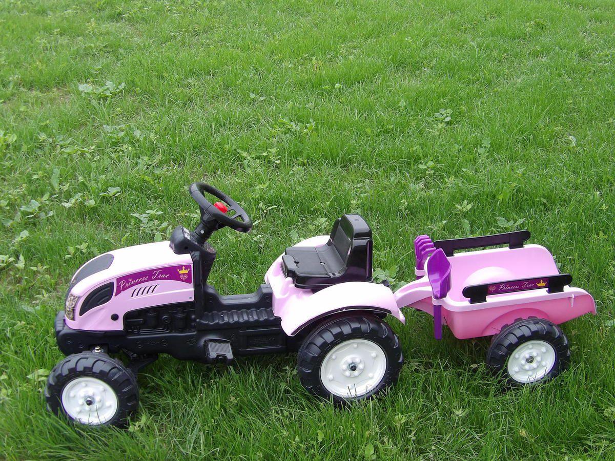 Tracteur, Princesse, Falk Toys, Jouet, Enfant, Kids