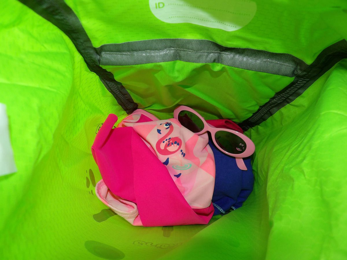 sac trunki, grenouille, bag, enfant