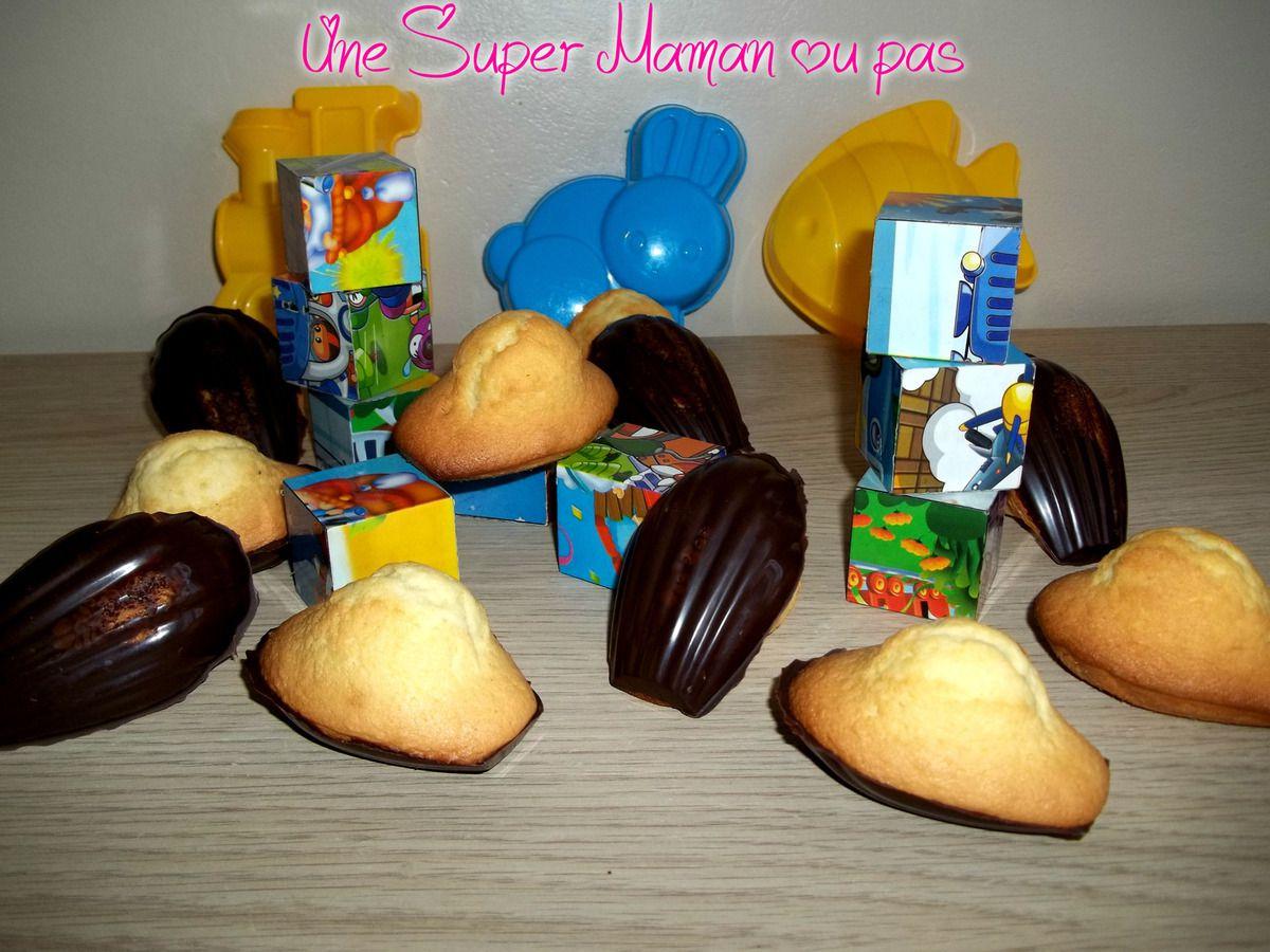 madeleine, recette, chocolat, cook, cuisine, pâtisserie