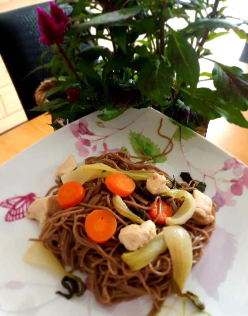 Quitoque wok recette cooking panier