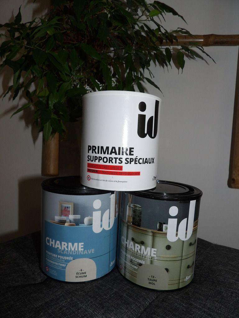 peinture bicolore id paris, décoration, rénovation