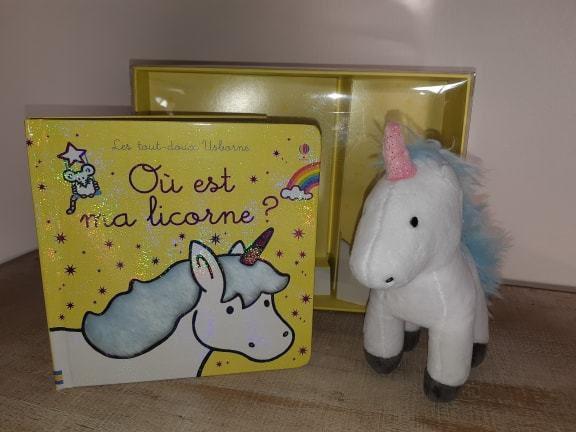 livre enfant, où est ma licorne, Editions Usborne