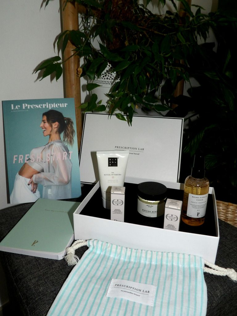 beauté, prescription lab, box, féminité