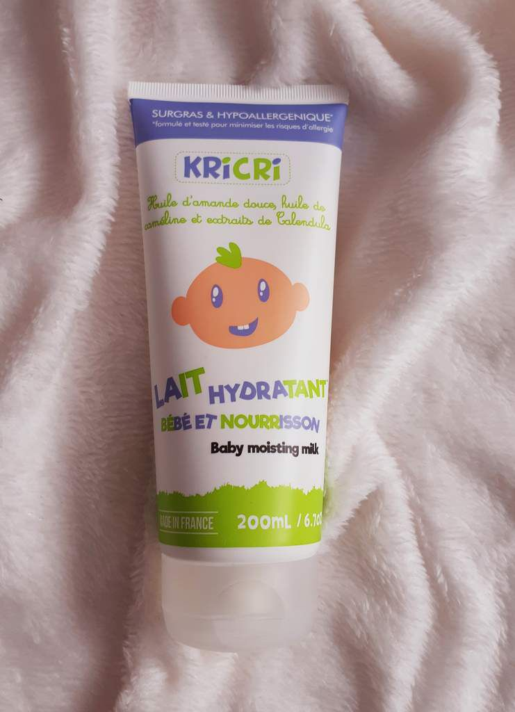 Lait pour le corps Kricri, bio, made in france