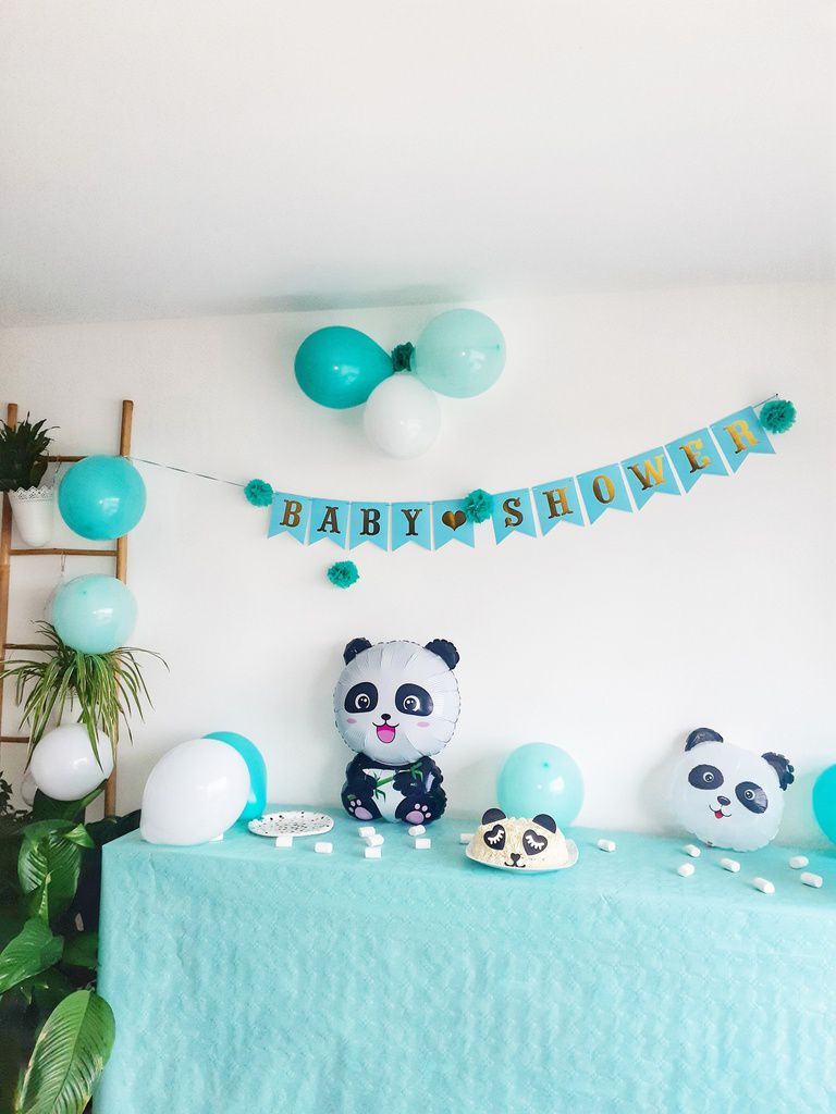 Baby shower, décoration, baby boy