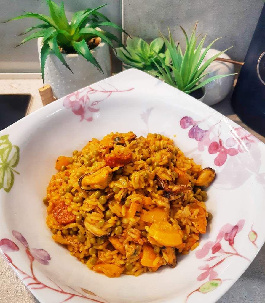 Paella, cookeo, recette facile