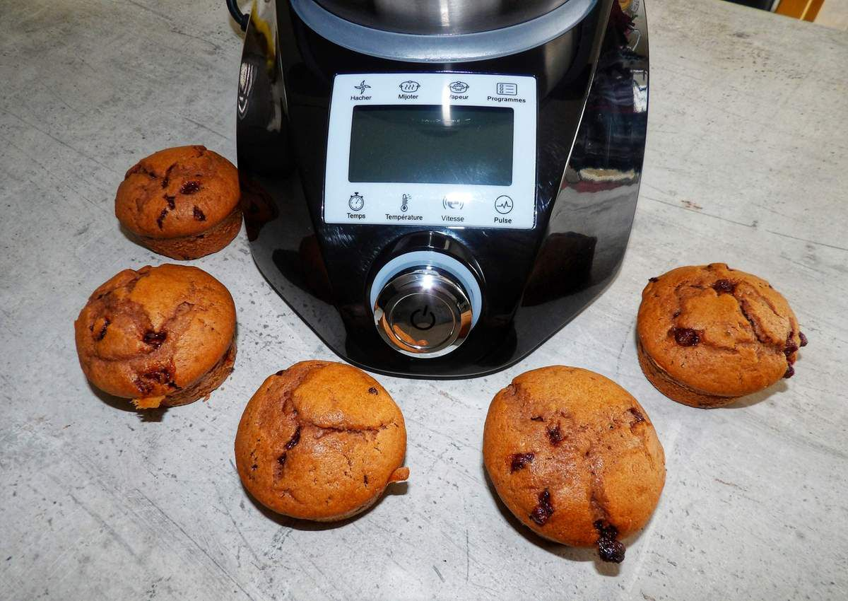 Muffins chocolat compact cook elite